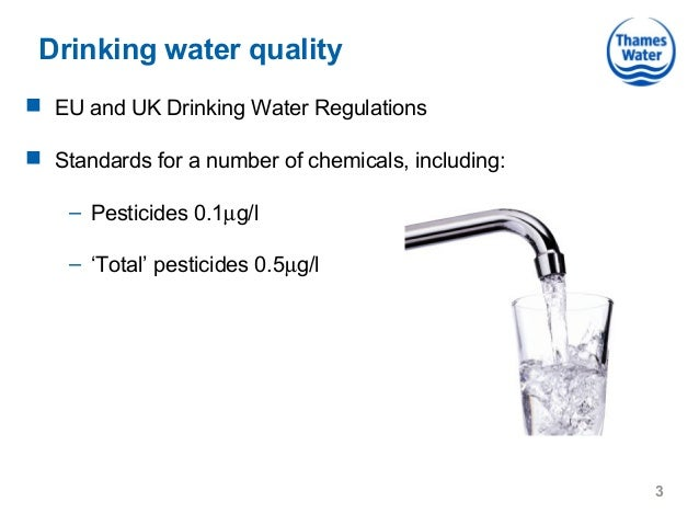 Eu Drinking Water Quality Standards