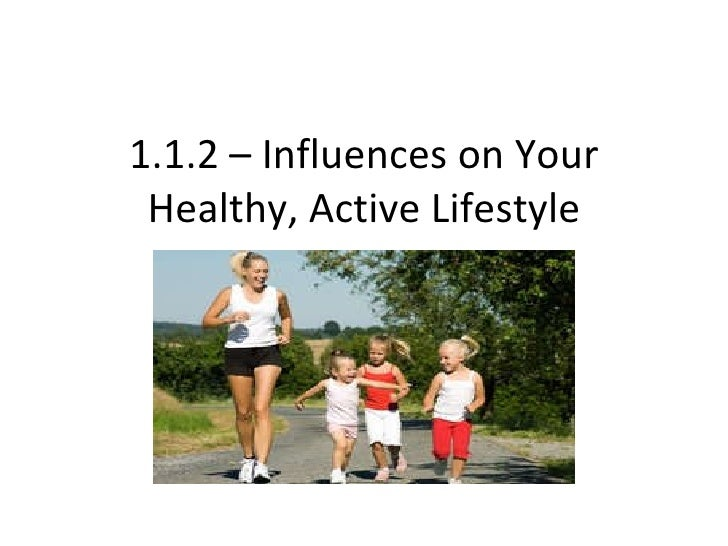 1.1.2 – Influences on Your Healthy, Active Lifestyle