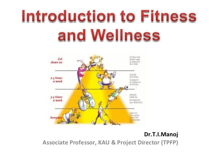 Dr.T.I.Manoj Associate Professor, KAU & Project Director (TPFP)