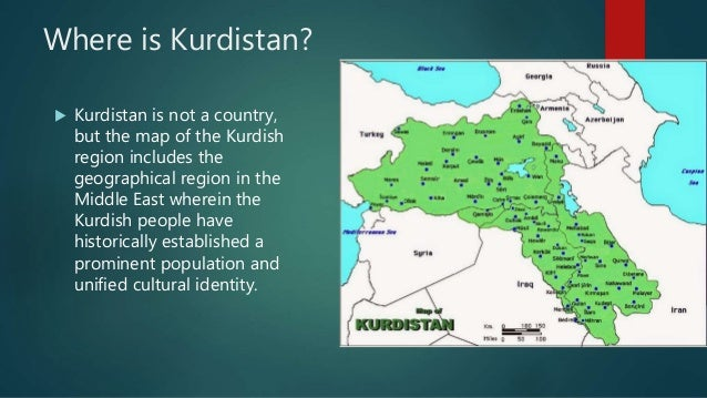 an introduction to the country of kurdistan Introduction / history kurds represent only eight percent of the population of syria they live in three main regions of syria which, though politically an integral part of the country, are ethnically connected to kurdistan.