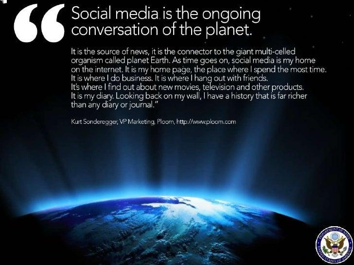 Social Media Overview   & Analysis Tools     U.S. Embassy Islamabad           May 10, 2012                              S