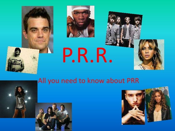 P.R.R.<br />All you need to know about PRR<br />