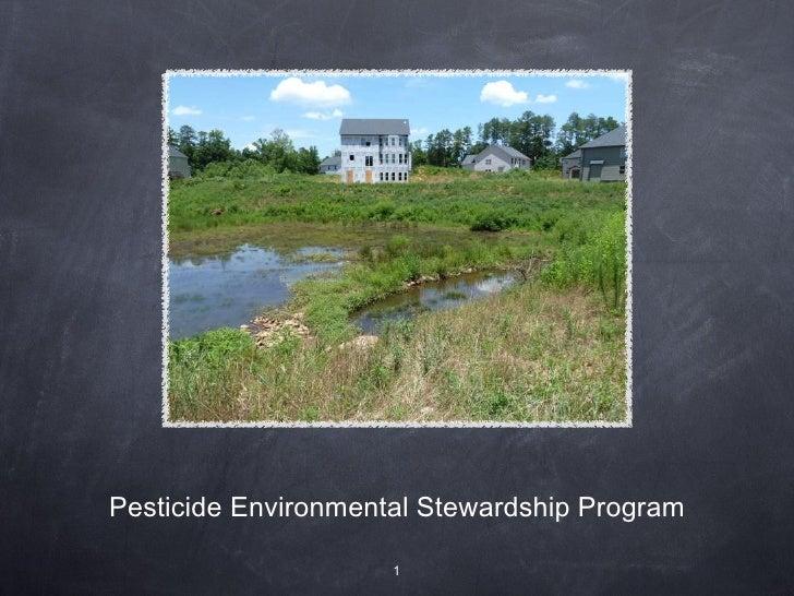 Pesticide Environmental Stewardship Program