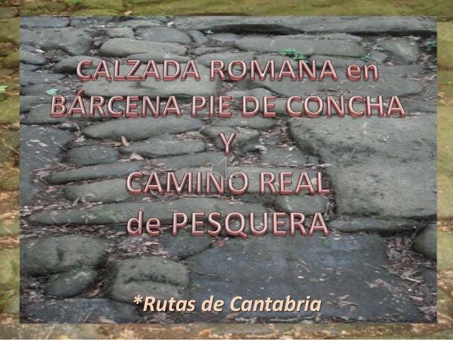 *Rutas de Cantabria