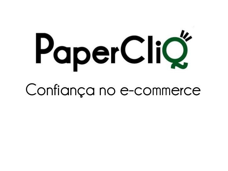 Confiança no e-commerce