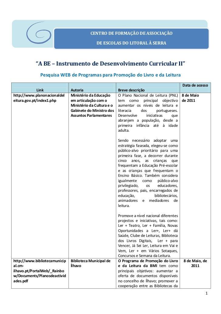 """CENTRO DE FORMAÇÃO DE ASSOCIAÇÃO                                              DE ESCOLAS DO LITORAL À SERRA           """"A B..."""