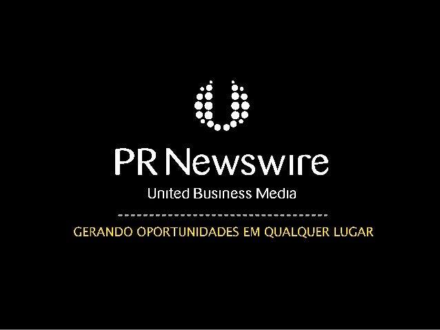 Brazilian journalists: prepared for the               future?       A PR Newswire Survey