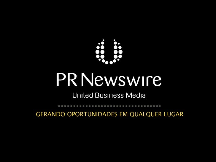 Os Jornalistas Brasileiros e as Redes               Sociais    Uma pesquisa PR Newswire