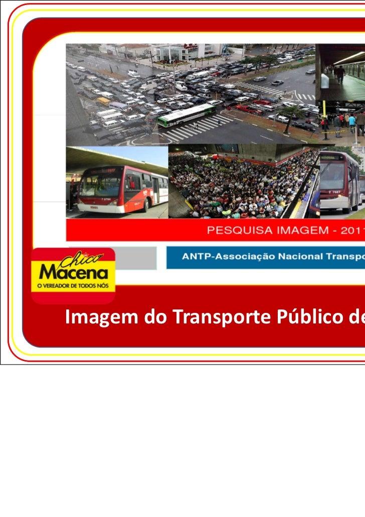 Imagem do Transporte Público de São Paulo