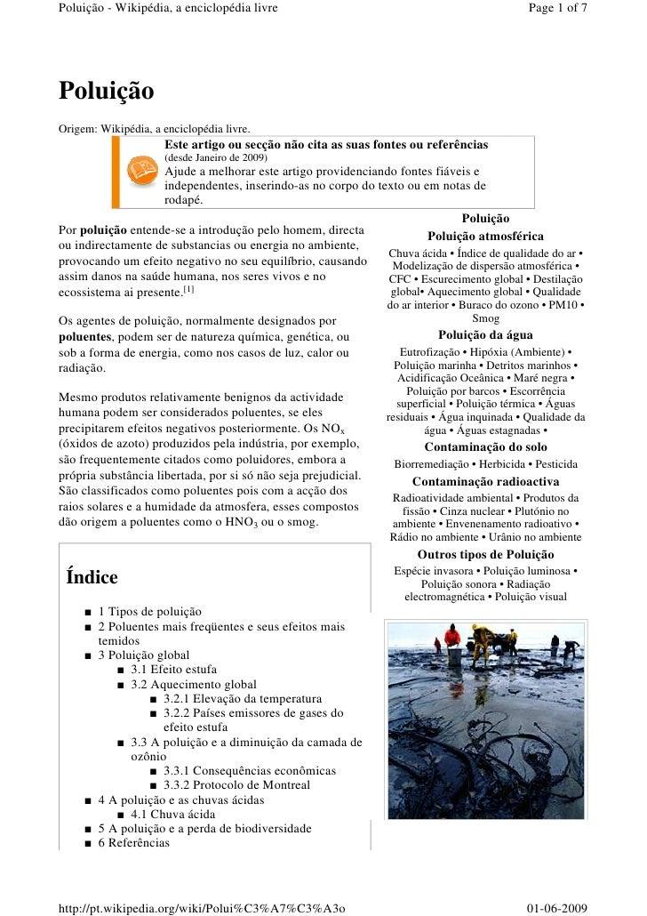 Poluição - Wikipédia, a enciclopédia livre                                                   Page 1 of 7     Poluição Orig...