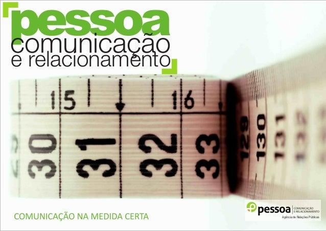 Agência de Relações Públicas pessoacomunicação e relacionamento