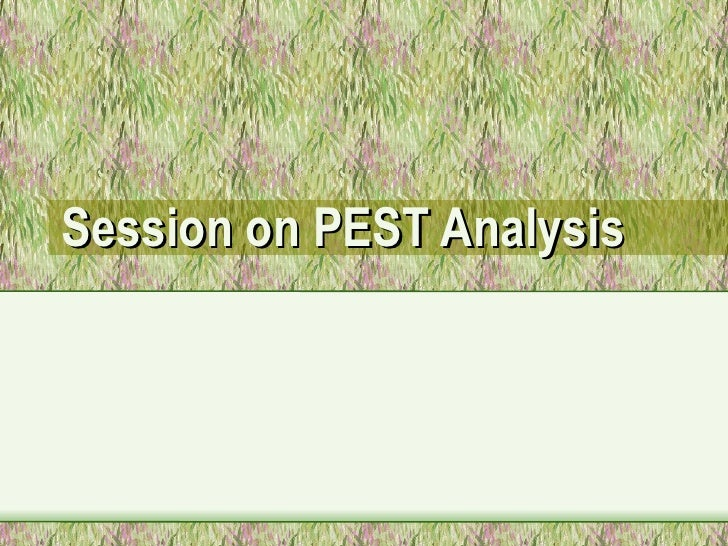 pest ananlysis of non babking sector Swot analysis and pest analysis industry analysis apply some strategic consideration and pressure to the points you list under these 'additional' headings.