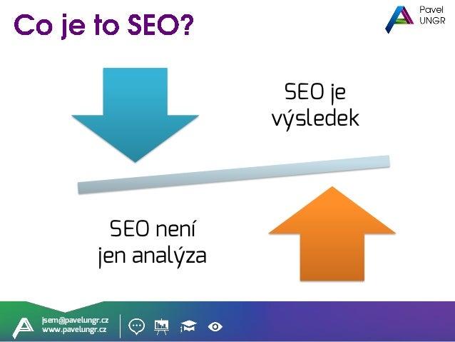 jsem@pavelungr.cz www.pavelungr.cz Analýza je důležitá
