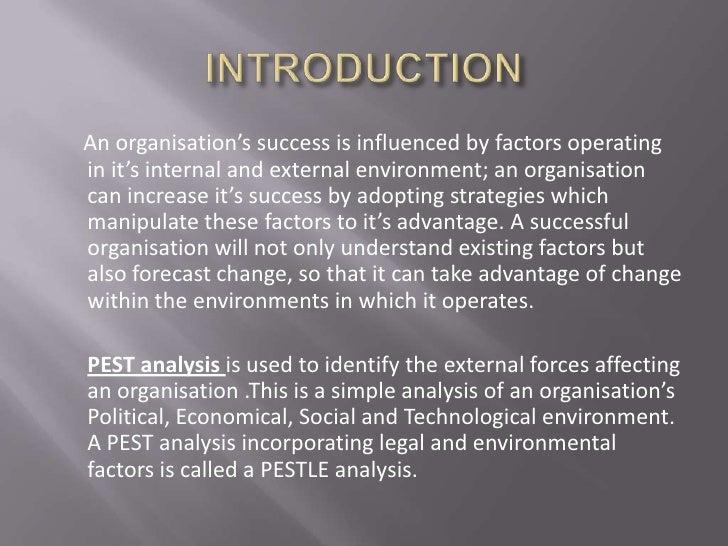 Pest analysis Slide 2