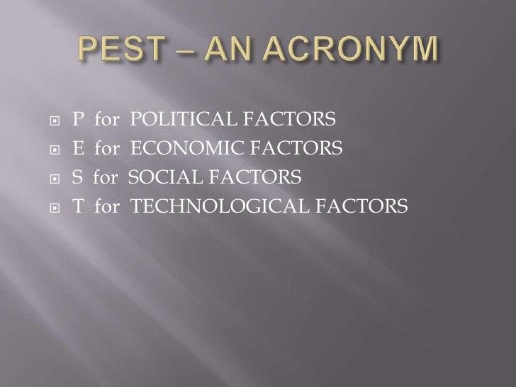 Pest analysis Slide 3