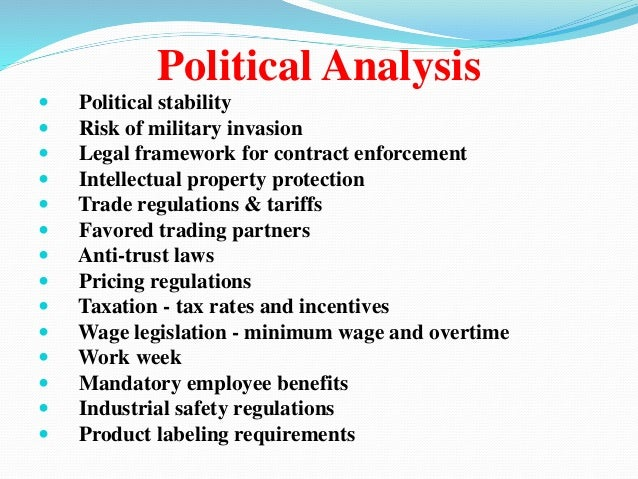 Political Group Analysis