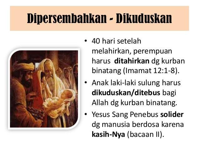 Pesta yesus dipersembahkan di kenisah (2 feb 2014) Slide 3