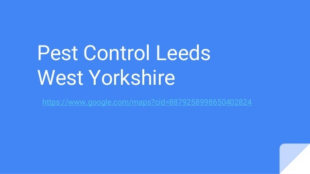 Pest Control Leeds West Yorkshire https://www.google.com/maps?cid=8879258998650402824