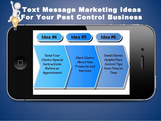Text Message Marketing for Pest Control Services slideshare - 웹
