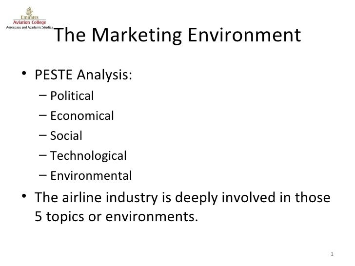 general environment analysis of singapore airlines