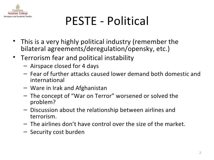 pestle analysis dubai Pest or pestle analysis helps you understand your business environment, by looking at political, economic, socio-cultural, and technological factors.