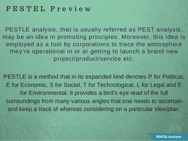 botswana pestel analysis Dynamics, a pest analysis, a market growth analysis, a key success factors  analysis  botswana has a stable political environment, although nearly half of  the.