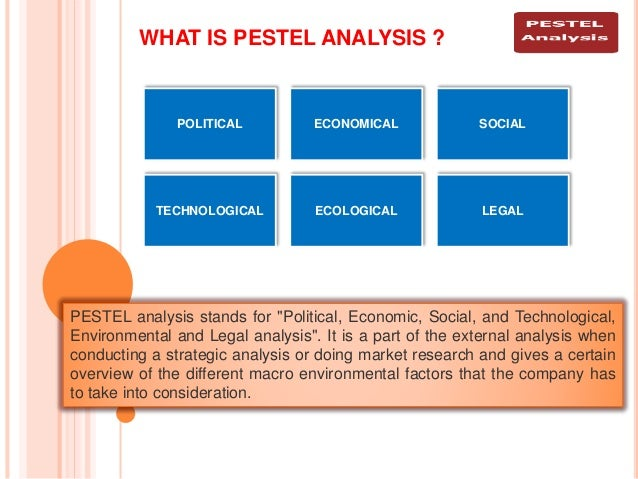 "breakdown of the pestel analysis A country analysis of china  infrastructure analysis – the focus is ""on the factors which support  the breakdown of its monopolies to provide fair."