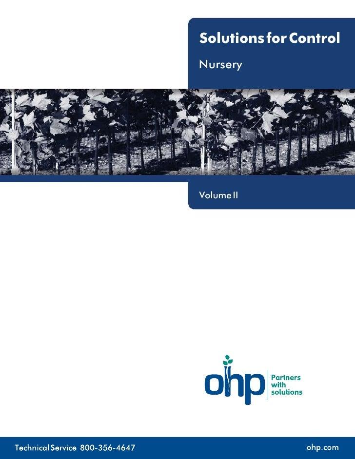 Nursery     Volume II