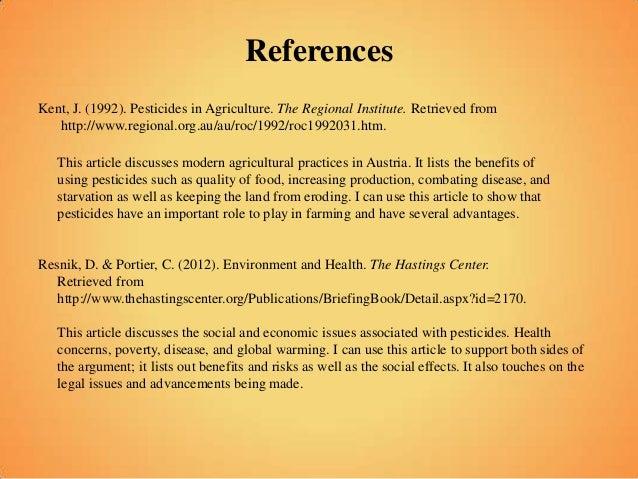 benefits of using pesticides