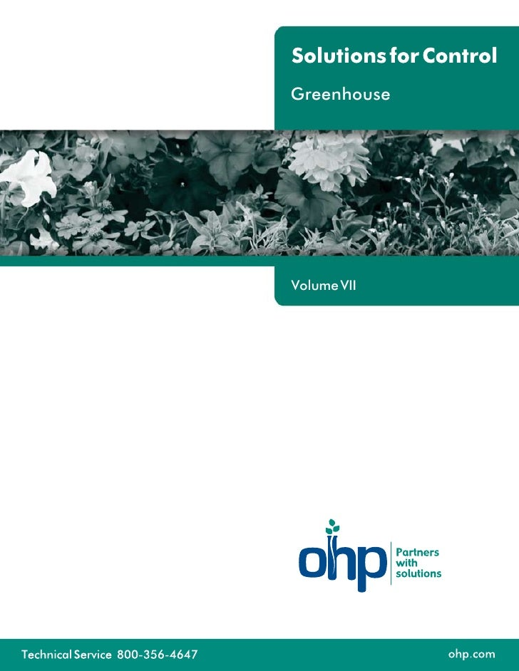 Greenhouse     Volume VII