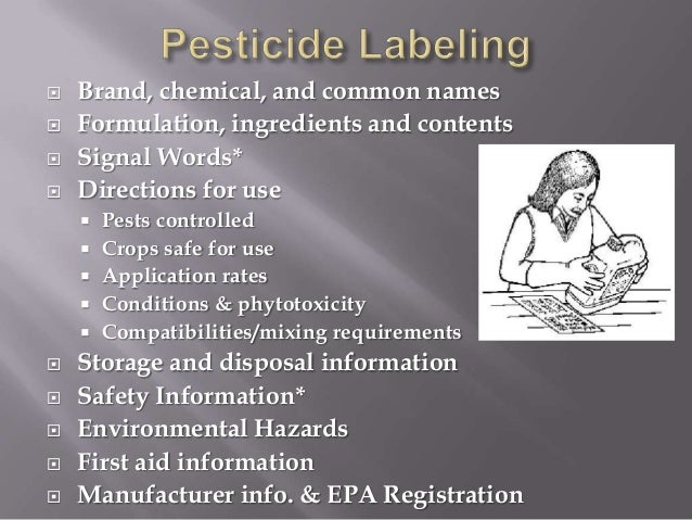 safe pesticide handling However, farmers' level of knowledge of pesticide safety is insufficient over 70% of the farmers did not read or follow pesticide label instructions, and 58% did not use any personal protective equipment (ppe) when handling pesticides educated farmers were significantly more likely to use ppe compared.