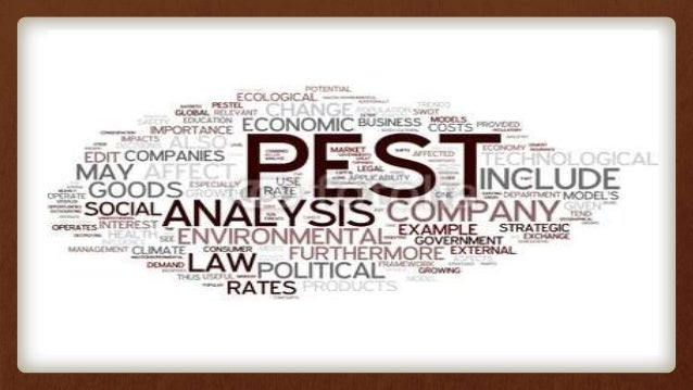 PEST analysis describes a framework of macro-environmental factors used in the environmental component of strategic manage...