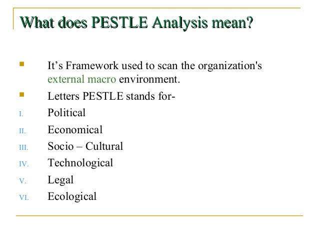australia pestle analysis A pest analysis is a process for identifying the political, economic, social and technological factors that affect supply chains.