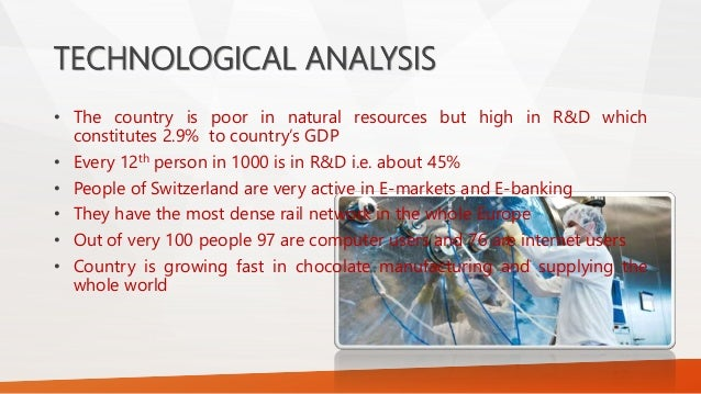 pest analysis switzerland Pest analysis is an important framework that provides the organization's overall view of the business environment firstly, it can identify the external factors that might change in the future.