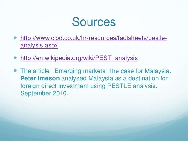 pest analysis for car industry in malaysia These are the sources and citations used to research pest analysis of malaysia this bibliography was generated on cite this for me on thursday, march 19, 2015.