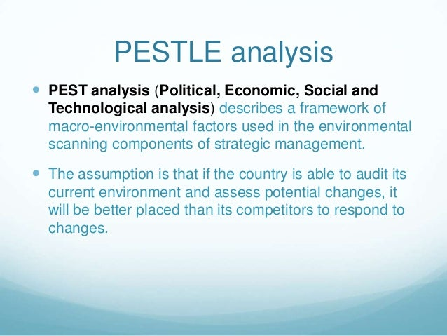 Pestle Analysis On Malaysia