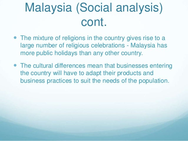 malaysia a pestel analysis Nestle malaysia swot analysis profile additional information what is a swot analysis it is a way of evaluating the strengths, weaknesses, opportunities,.