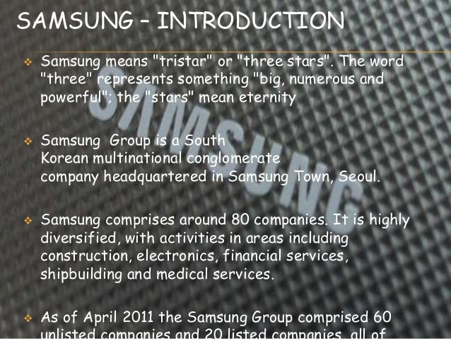 pestle analysis of samsung Pestel analysis of samsung electronics, pestel analysis of samsung electronics samsung is an international and highly presumed electronic company founded 1969 and its headquarters are found in south korea.