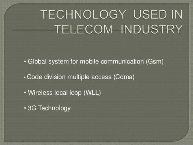 etop analysis of telecommunication sector By 2020, the revenues of the sector are forecasted to reach us$ 104 billion in the long run, with the system becoming more transparent and easily compliable, demonetisation is expected to benefit organised players in the fmcg industry.