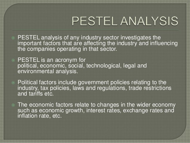 pest analysis of telecommunication industry Free essay: telecommunications industry environment analysis business brief telecommunication is basically any communication over a distance, either via.