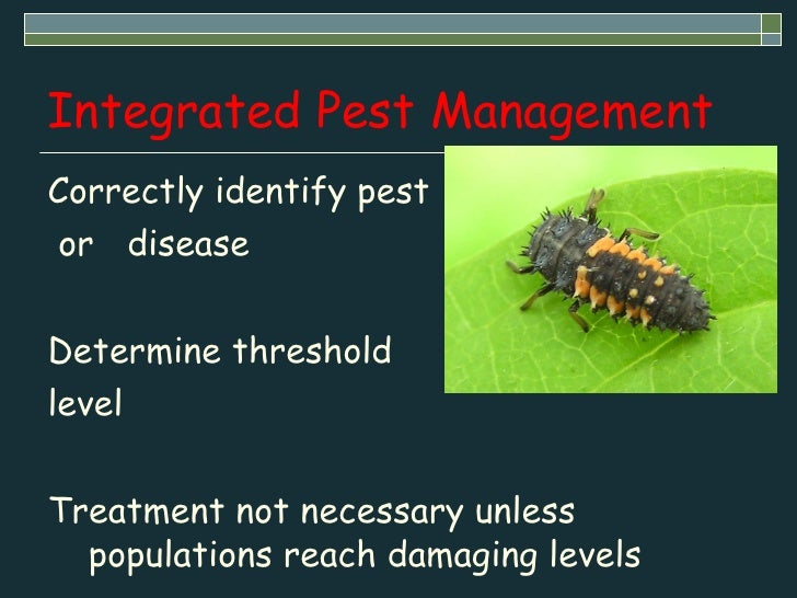 principles of integrated pest and disease management pdf