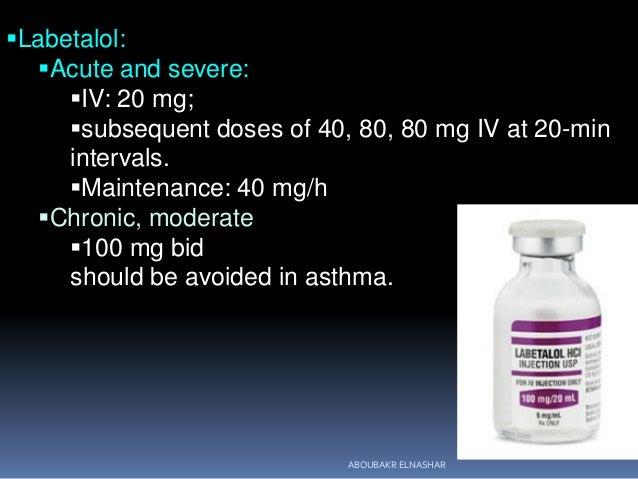 Labetalol Iv And Pregnancy
