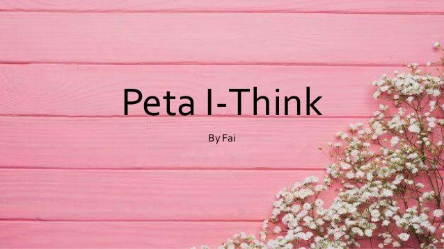 Peta I-Think By Fai