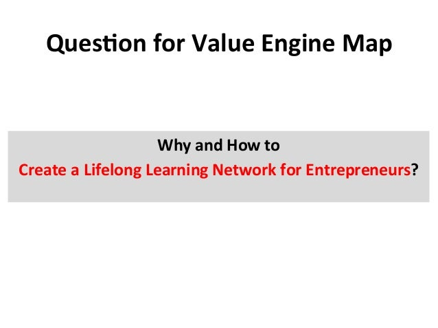 QuesEon  for  Value  Engine  Map    Why  and  How  to   Create  a  Lifelong  Learning  Network ...