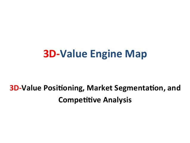 3D-‐Value  Engine  Map        3D-‐Value  PosiEoning,  Market  SegmentaEon,  and   CompeEEve  Analy...