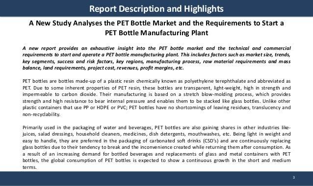 Pet Bottle Manufacturing Plant Project Report