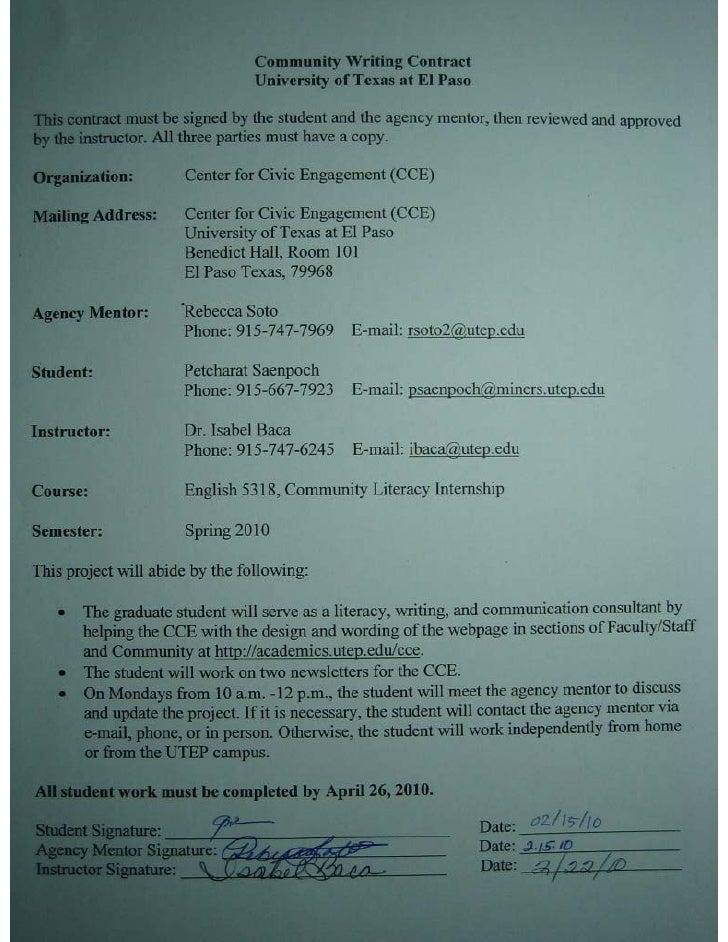 Petcharat  internship contract