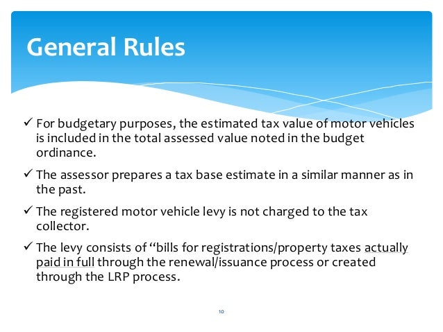 Does Nc Have Personal Property Tax On Vehicles