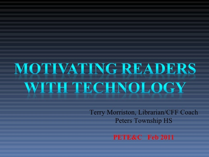 Terry Morriston, Librarian/CFF Coach Peters Township HS PETE&C  Feb 2011