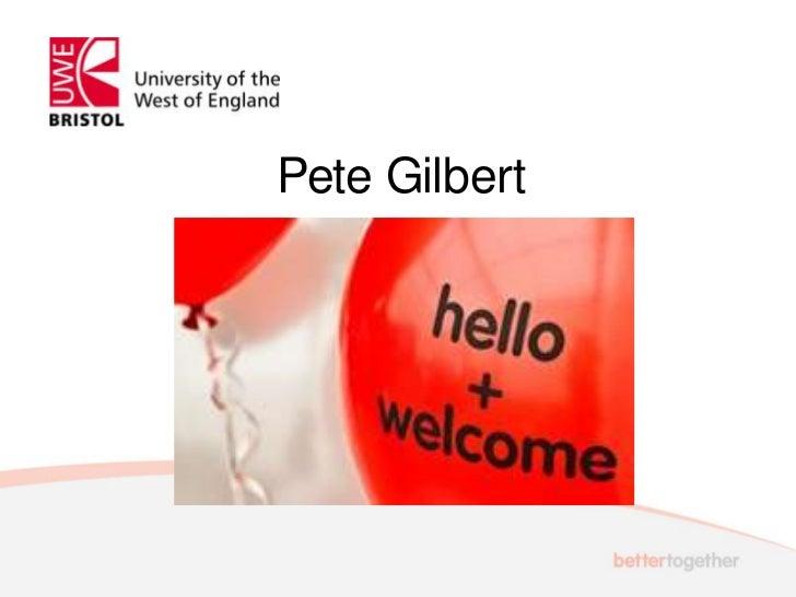 Pete Gilbert<br />